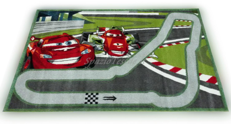 Tappeti Per Bambini Disney : Tappeto per bambini disney disegno cars